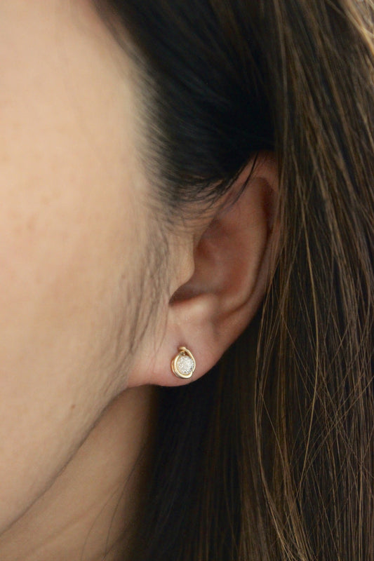 Stardust Stud Earrings - Designed By Lei