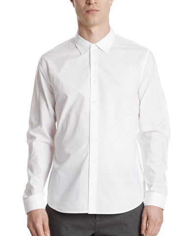 color:White|alt:ATM Cotton Poplin Classic Dress Shirt
