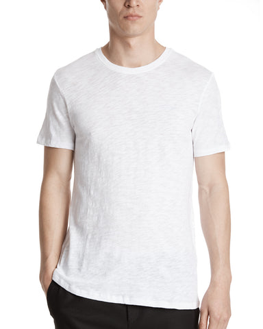 color:White|alt:ATM Slub Jersey Crew Neck Tee