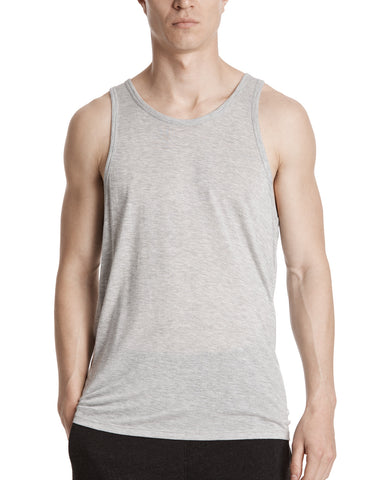 color: Heather Grey|alt:ATM Modal Jersey Tank