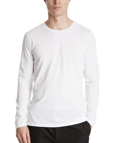 color:White|alt:ATM Classic Jersey Long Sleeve Tee