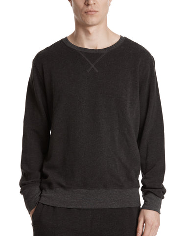 color:Heather Charcoal|alt:ATM French Terry Sweatshirt