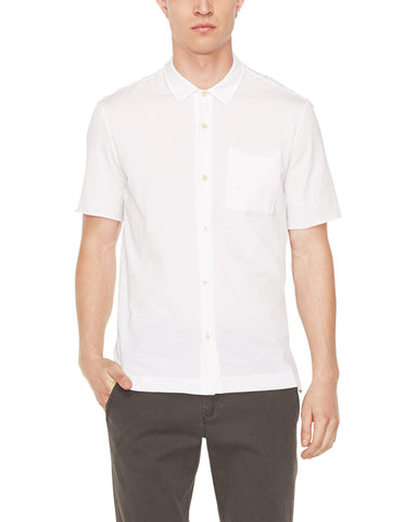 color:White|alt:ATM Classic Cotton Jersey Short Sleeve Shirt