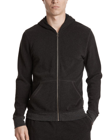 color:Heather Charcoal|alt:ATM French Terry Zip-Up Hoodie