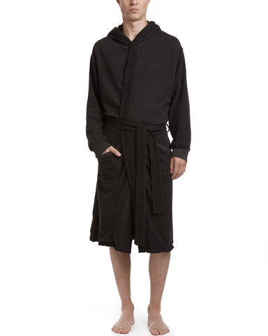 color:Heather Charcoal|alt:ATM French Terry Robe