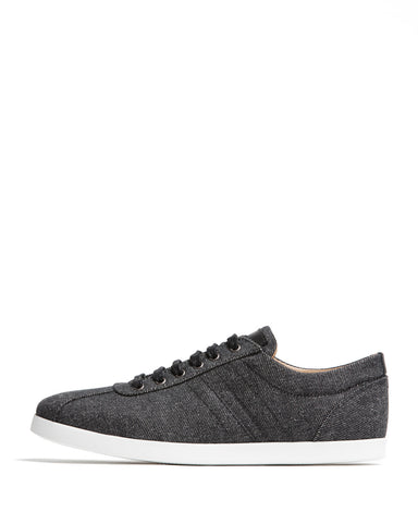 color:Black Indigo|alt:ATM Bleecker Lace-Up Sneaker