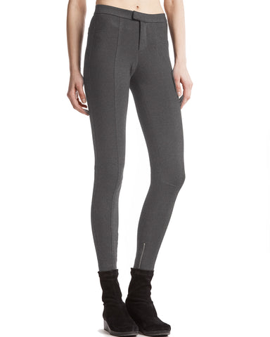 color:Charcoal Heather|alt:ATM Ponte Moto Pant