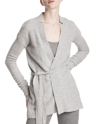 color:Grey|alt:ATM Cashmere Blend Belted Cardigan