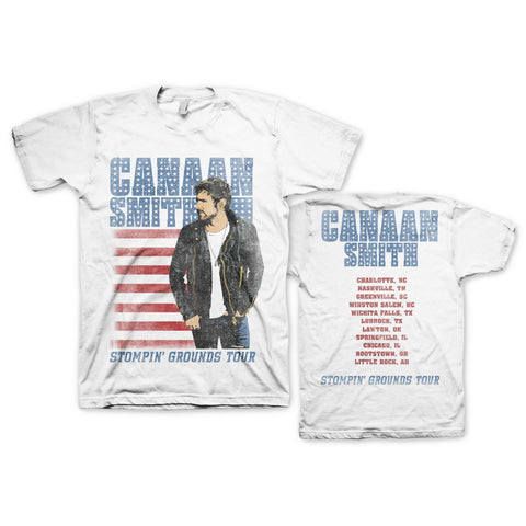 Canaan Smith Stompin' Grounds Tour T-Shirt