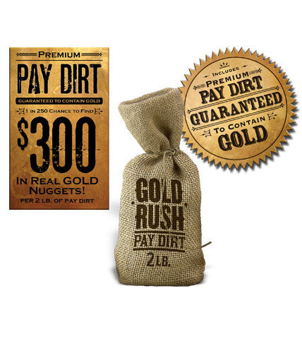 Premium 2lb Bag of Pay Dirt