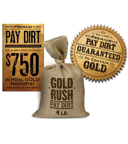 Premium 4lb Bag of Pay Dirt