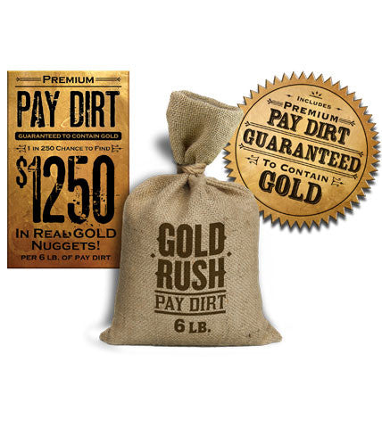 Premium 6lb Bag of Pay Dirt