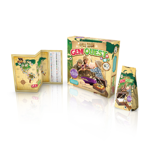 Gold Rush Gem Quest Kit
