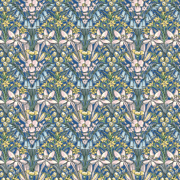 Adlington Hall - Liberty Flower Show Spring Collection - 100% Cotton Fabric