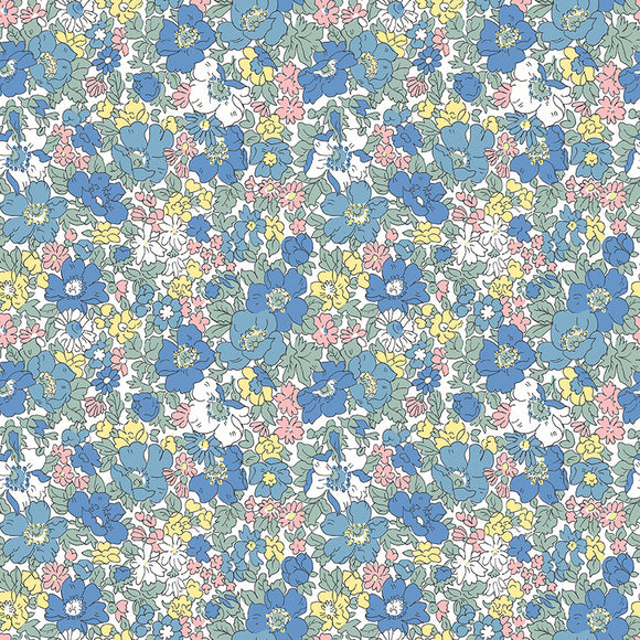 Cosmos Bloom - Liberty Flower Show Spring Collection - 100% Cotton Fabric