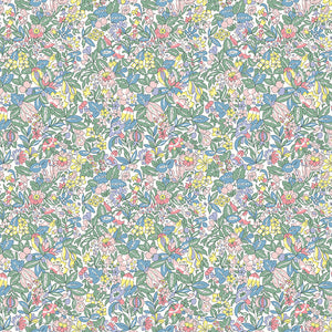 Hyde Floral - Liberty Flower Show Spring Collection - 100% Cotton Fabric