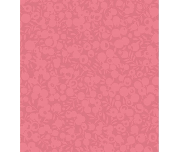 Rhubarb 5688 - Liberty Wiltshire Shadow Collection Cotton Fabric