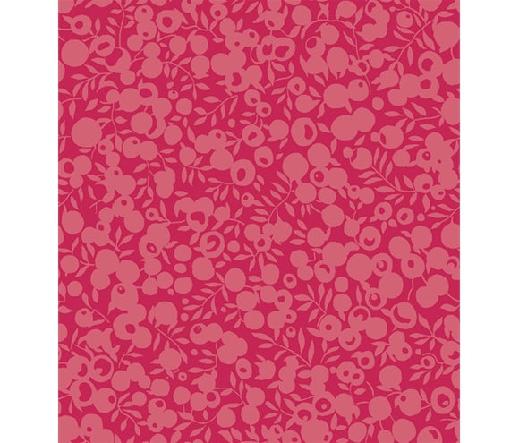 Raspberry 5689 - Liberty Wiltshire Shadow Collection Fabric Felt