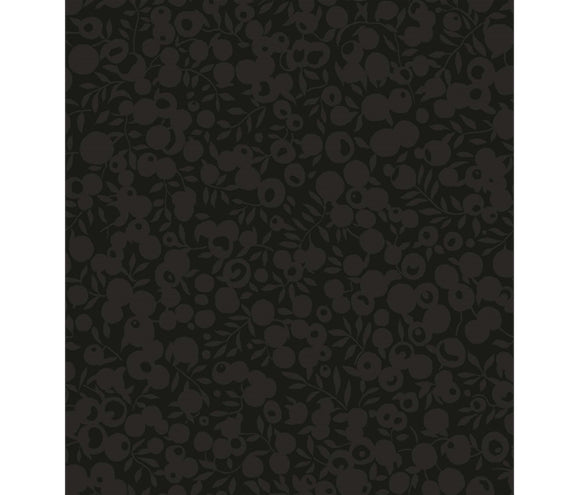 Black 5714 - Liberty Wiltshire Shadow Collection Cotton Fabric