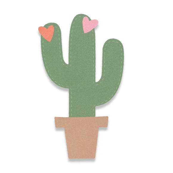 Sizzix Cactus Die Bigz 663238 - Rosie's Craft Shop Ltd