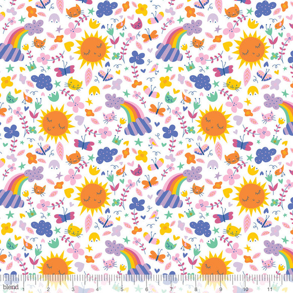 Sunshine & Rainbows White - Happy Skies - Blend