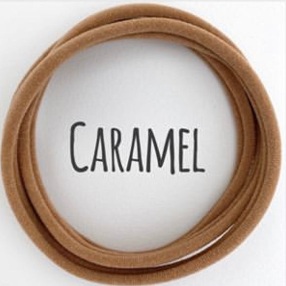 Caramel - Dainties by Nylon Headbands