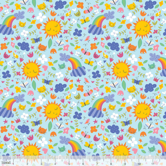 Sunshine & Rainbows Blue - Happy Skies - Blend