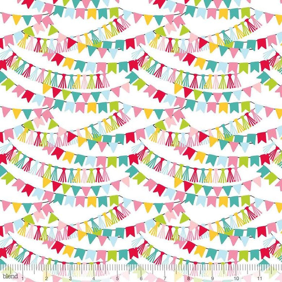 Bunting Bannerline Pink - Piccadilly - Blend
