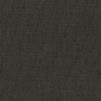 Black - Moondust - Robert Kaufman Lurex Cotton Fabric