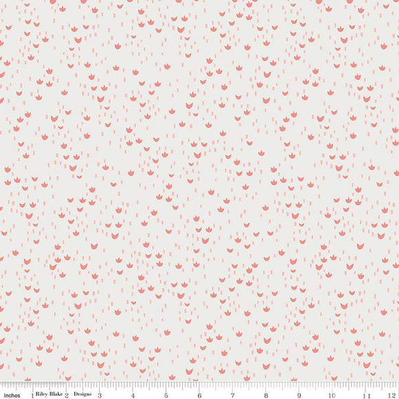 Red Riding Hood Meadows Cream - Little Red In The Woods by Riley Blake - 100% Cotton Fabric