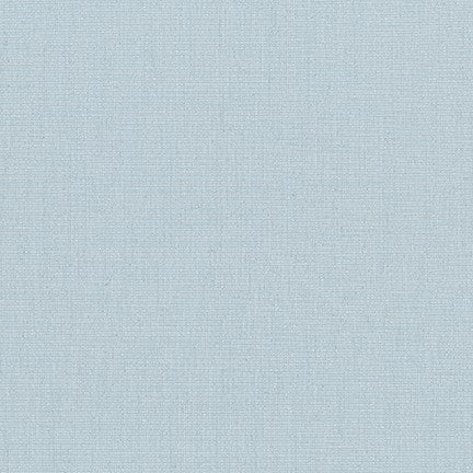 Light Blue - Moondust - Robert Kaufman Lurex Cotton Fabric