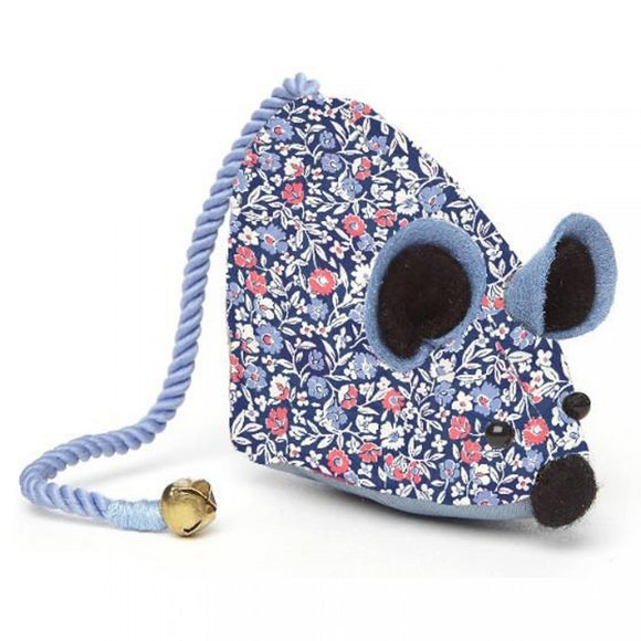 Liberty Orchard Garden Mouse Pin Cushion - Orchard Multi - Rosie's Craft Shop Ltd
