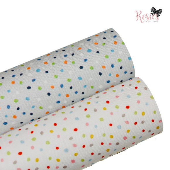 Spots and Sprinkles Designer Fabric Felt