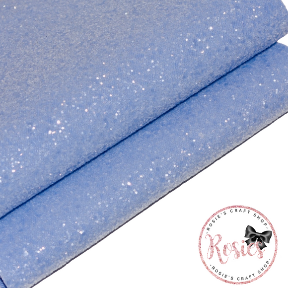 Parma Violet Sugar Frosted Chunky Glitter Fabric - Luxury Core Collection