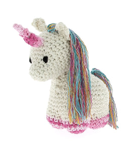 Nora the Unicorn DIY Crochet Kit - Rosie's Craft Shop Ltd