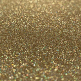 Holo Gold Glitter Iron On Vinyl HTV