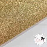 Holo Gold Glitter Iron On Vinyl HTV - Rosie's Craft Shop Ltd