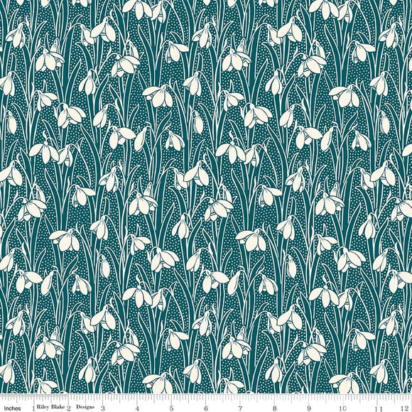 Hesketh Forest Green - Liberty Hesketh House Collection