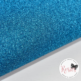 Aqua Glitter Iron On Vinyl HTV - Rosie's Craft Shop Ltd