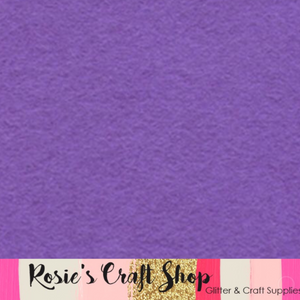 Lavender Wool Blend Felt - Rosie's Craft Shop Ltd