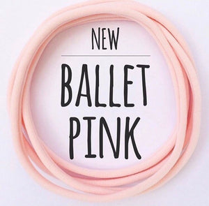 Ballet Pink - Dainties by Nylon Headbands - Rosie's Craft Shop Ltd
