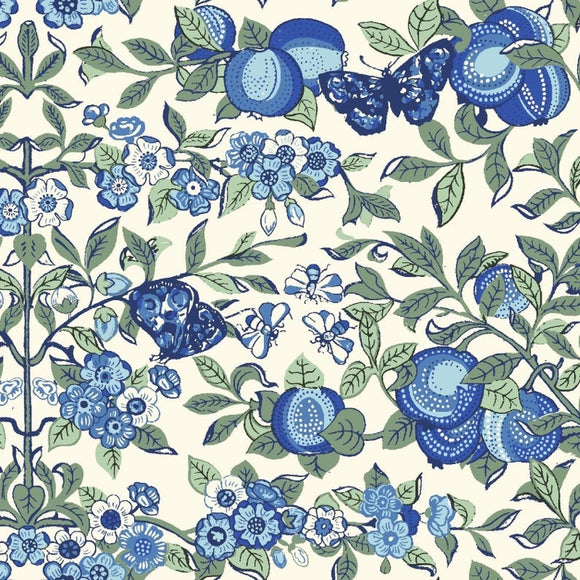 Orchard in Blue by Liberty - The Orchard Garden