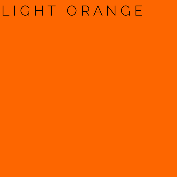 Light Orange Self Adhesive Glossy Vinyl - Sign Vinyl Oracle 651
