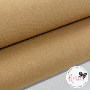 Leather Essex Linen Fabric Felt