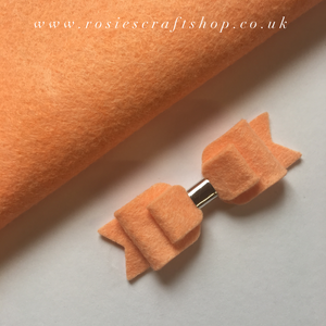 Georgia Peach Wool Blend Felt - Rosie's Craft Shop Ltd