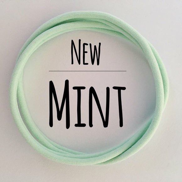 Mint - Dainties by Nylon Headbands - Rosie's Craft Shop Ltd