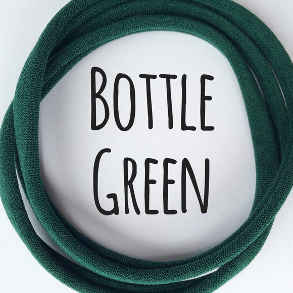 Bottle Green - Dainties by Nylon Headbands - Rosie's Craft Shop Ltd