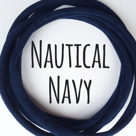 Nautical Navy - Dainties by Nylon Headbands - Rosie's Craft Shop Ltd