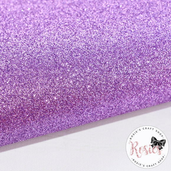 Lavender Premium Fine Glitter Topped Wool Felt - Rosie's Craft Shop Ltd