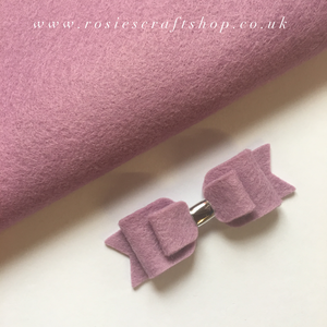 Wisteria Wool Blend Felt - Rosie's Craft Shop Ltd